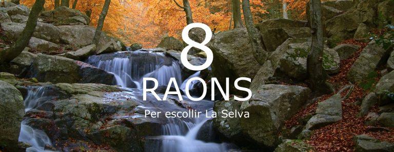8 razones La Selva -TRLS