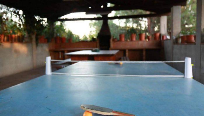 Ping pong de la casa rural Can Micos